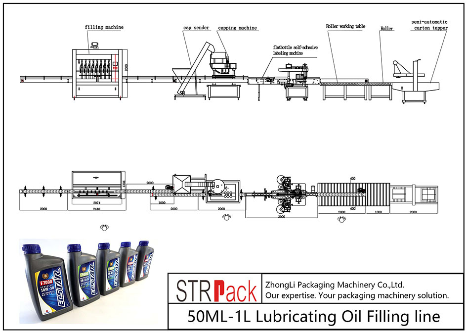 Talian Pengisian Minyak Pelincir 50ML-1L automatik