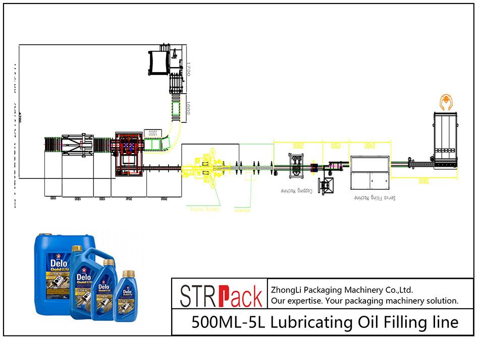Talian Pengisian Minyak Pelincir 500ML-5L automatik