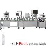 Mesin Pengisian dan Penutup Emulsi Air Automatik