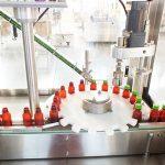 Garis Pembungkusan Mesin Pengisian Vitamin Cecair Automatik