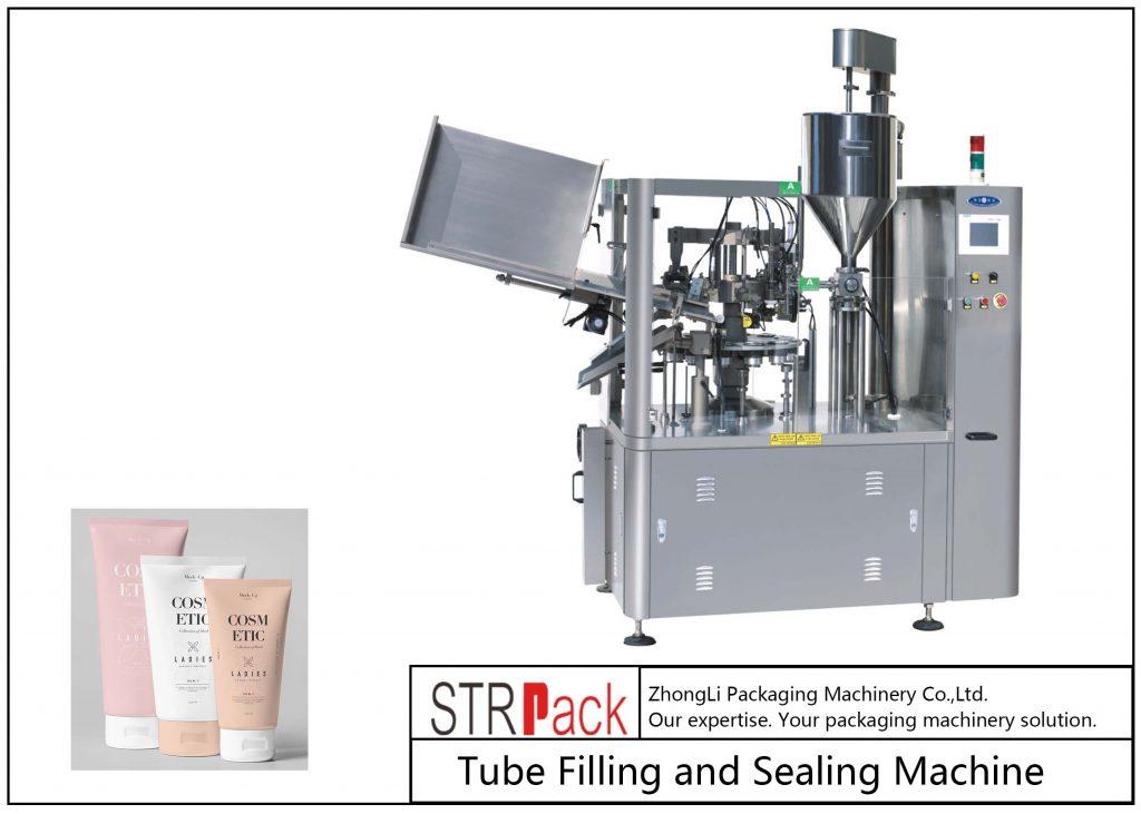 Mesin Pengisian dan Pengedap Tiub Plastik SFS-100
