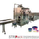 Mesin Pengisian Cecair Vaseline Jalur Pengisian Dan Penyejukan Vaseline Automatik